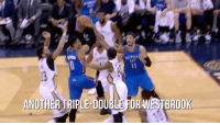 Russell Westbrook's historic triple-double wasn't the only notable storyline from last night: WESTBROOK  ANOTHER TRIPLE DOUBLE FOR Russell Westbrook's historic triple-double wasn't the only notable storyline from last night