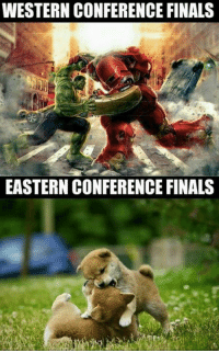 Finals, Memes, and Western: WESTERN CONFERENCE FINALS  EASTERN CONFERENCE FINALS