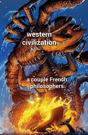 French, Civilization, and Philosophers: westerrn  civilization  a couple French  philosopherS