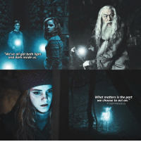"Memes, 🤖, and Dark: ""We've all got both light  and dark inside  us.  What matters is the part  we choose to act on.""  FIRE FAWkESS hello everyone HarryPotter"