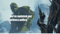 Inbox, Policy, and Privacy: we've updated our  privacy policy  my inbox