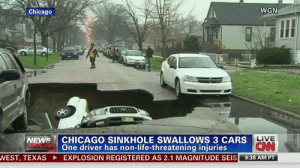 darkwizardjamesmason:  bigblackfilmer:  joaquinhighroller:  lmfao  Is it me or does it look like the guy in the back is controlling the ground?  This was no accident! THAT MAN IS AN EARTHBENDER! : WGN  Chicago  CHICAGO SINKHOLE SWALLOWS 3 CARS  Õne driver has non-life-threatening injuries  EXPLOSION REGISTERED AS 2.1 MAGNITUDE SEIS  LIVE  NEWS  CNN  9:38 AM PT  VEST, TEXAS darkwizardjamesmason:  bigblackfilmer:  joaquinhighroller:  lmfao  Is it me or does it look like the guy in the back is controlling the ground?  This was no accident! THAT MAN IS AN EARTHBENDER!