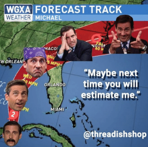 WGXA FORECAST TRACK WEATHER MICHAEL ORLEAN Maybe Next Time You Will
