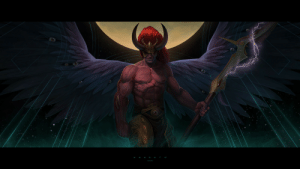 wh40kartwork:  Magnus the Red by Ilya Ozornin: wh40kartwork:  Magnus the Red by Ilya Ozornin