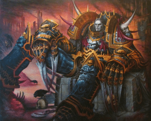 wh40kartwork:  The Dark King  by David Severeide  : wh40kartwork:  The Dark King  by David Severeide