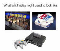 Some great memories. https://t.co/VOYsV26uQF: What a lit Friday night used to look like  BLOCKBUSTER  DU  İZZA BREAD Some great memories. https://t.co/VOYsV26uQF