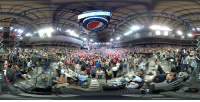 Minnesota, Video, and The Incredible: WHAT A NIGHT! 9,000 people inside and many thousands more outside. See the incredible Minnesota rally crowd in our FIRST EVER 360 Interactive Video!
