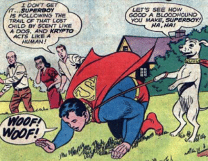 What a strange kink Superboy has: What a strange kink Superboy has