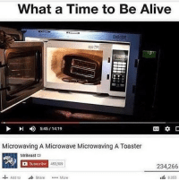 well my edgy post got 1k likes and my normie one got 12k so guess it's sorted 🙃 • Follow my other accounts @quornhubv2 and @irepostshittymemes •: What a Time to Be Alive  I 5:45 14:19  CC  Microwaving A Microwave Microwaving A Toaster  Mr Beast  Subscribe 453,909  234,266  Add to Share  More  8353 well my edgy post got 1k likes and my normie one got 12k so guess it's sorted 🙃 • Follow my other accounts @quornhubv2 and @irepostshittymemes •