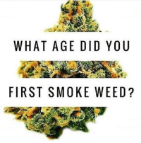 Im afraid to ask 😂: WHAT AGE DID YOU  FIRST SMOKE WEED Im afraid to ask 😂