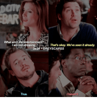 Memes, True, and Okay: What am I the entertainment?  I am not strippin  That's okay. Weve seen it already.  3x24 GREYS CAPSS  True.  I haven't greysanatomy | derek stay bein shady 😤😤
