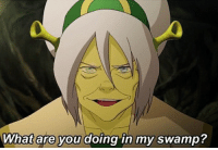LOK's Toph in a nutshell: What are you doing in my swamp? LOK's Toph in a nutshell