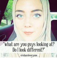 """(This story put tears in my eyes, MUST READ) Story of a revert sister Amy --- """"Salamu Alaykum, My name is Amy and I am an American revert of 2 years. I currently am an MA student and an instructor at a university for Arabic. This week, I made the decision to wear hijab full time. I was extremely nervous to show up with hijab in the middle of the semester, especially in front of my American students. As I walked to class my stomach was in a knot and there was a voice in my head saying to just take it off. I kept thinking that hijab might ruin the good relationship I have with my students. Thankfully, the desire to wear hijab overpowered those voices. My students stared in confusion as I entered the class. I began with a light joks and said """"what are you guys looking at? Do I look different?"""" I smiled at them and they laughed. I then briefly explained that this is how I would look from now on and I choose to cover for my relgion. I also told them I am still the same person. My eyes filled with tears and my students began to clap for me, which made me cry even more. Then, one of the students said, """"You can even wear a burqa, it would not change anything for us."""" I laughed as I wiped my tears. Another student yelled, """"someone go give her a hug."""" And then I said """"only hugs from women and they all laughed. I am beyond thankful to Allah for this experience as it has revealed how in most people, there is beauty and kindness and empathy and love, and those things are more powerful than the differences between any of us."""" REPOST: """"What are you guys looking at?  Do look different?""""  @islam4everyone (This story put tears in my eyes, MUST READ) Story of a revert sister Amy --- """"Salamu Alaykum, My name is Amy and I am an American revert of 2 years. I currently am an MA student and an instructor at a university for Arabic. This week, I made the decision to wear hijab full time. I was extremely nervous to show up with hijab in the middle of the semester, especially in front of my A"""