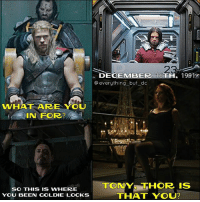 All locked up together lol nerd geek ironman captainamerica spiderman thor hulk mcu disney guardiansofthegalaxy thorragnarok chrishemsworth loki tomhiddleston dc batman superman justiceleague starwars anime sebastianstan robertdowneyjr wintersoldier: WHAT ARE YOU  IN FOR?  SO THIS IS WHERE  YOU BEEN GOLDIE LOCKS  DECEMBER 16  19912  everything but dc  TONYS THOR IS  THAT YOU? All locked up together lol nerd geek ironman captainamerica spiderman thor hulk mcu disney guardiansofthegalaxy thorragnarok chrishemsworth loki tomhiddleston dc batman superman justiceleague starwars anime sebastianstan robertdowneyjr wintersoldier