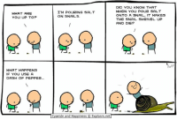 Dank, Cyanide and Happiness, and 🤖: WHAT ARE  YOU UP TO?  WHAT HAPPENS  IF YOU USE A  DASH OF PEPPER...  I'M POURING SALT  ON SNAILS.  Cyanide and Happiness Explosm.net  DID YOU KNOW THAT  WHEN YOU POUR SALT  ONTO A SNAIL, IT MAKES  THE SNAIL SHRIVEL UP  AND DIEP By Kris. Tag a friend who is afraid of snails! ... why in the world is anyone afraid of snails? 🐌 ⠀ ⠀ If you ARE freaked out by the slimy critters, you can feel safe at www.explosm.net. Pretty sure this dude is the only snail on there!
