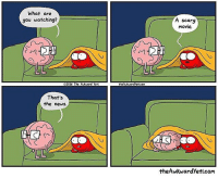 Memes, News, and Too Much: What are  you watching?  A scary  movie  sq  02016 The Adward Yeti  theAkvardyeticom  That's  the news  12.  theAwkwardYeti.com (artist: @theawkwardyeti) this hurts my heart too much
