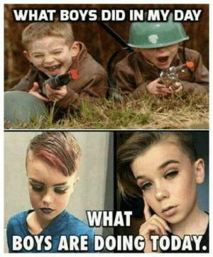 Homophobic meme goes viral in social media page dedicated to The ...: WHAT BOYS DID IN MY DAY  WHAT  BOYS ARE DOING TODAY. Homophobic meme goes viral in social media page dedicated to The ...