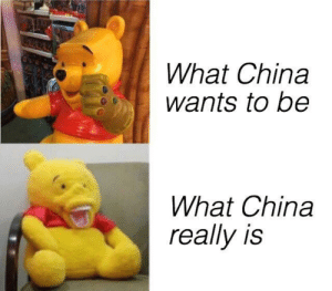 Invest now to see China's true self via /r/MemeEconomy https://ift.tt/31aM363: What China  wants to be  What China  really is Invest now to see China's true self via /r/MemeEconomy https://ift.tt/31aM363