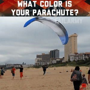 """what is the point of the helmet in the skydiving? I mean, can you kinda make it?"" - Jerry Seinfeld: WHAT COLOR IS  YOUR PARACHUTE? ""what is the point of the helmet in the skydiving? I mean, can you kinda make it?"" - Jerry Seinfeld"
