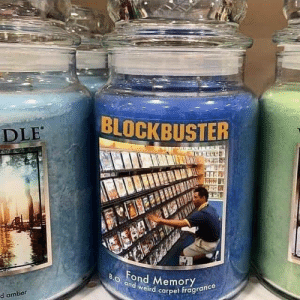 What did Blockbusters smeel like?: What did Blockbusters smeel like?