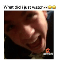 Funny, What Did, and I Just: What did i just watch  HODDCLIPS Wtf clip of the day😂😭 (Follow us @hoodclips) hoodcomedy hoodclips comedy