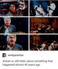 What do we do with her?  Into garbage chute, flyboy  Ghere a garbage chute?  [Whining)  Trash compactor?  emily prentiss  #when ur still bitter about something that  happened almost 40 years ago I really don't mind people that hold a grudge for that long😂😂😂