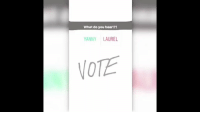 Sports, Laurel, and Clear: What do you hear!?!  YANNY LAUREL  NOTE If you listen closely, it's pretty clear what you hear https://t.co/A4VB91d5CN
