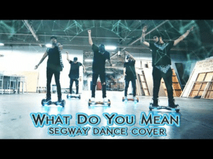 i-wontdance:   What Do You Mean / Epic Segway Dance Cover / Justin Bieber  Directed, Choreographed, Edited and Filmed by David MooreStarringJosh KillackyEvan MoodyAlex DitommasoDamien LavergneJake Deanda   www.iwontdance.com : WHAT DO YOu MEAN  SEGWAY DANCE COVER i-wontdance:   What Do You Mean / Epic Segway Dance Cover / Justin Bieber  Directed, Choreographed, Edited and Filmed by David MooreStarringJosh KillackyEvan MoodyAlex DitommasoDamien LavergneJake Deanda   www.iwontdance.com