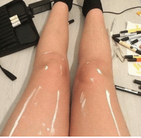 Girls, Memes, and Buzzfeed: What do you see?  https://www.buzzfeed.com/krishrach/people-are-losing-it-over-this-photo-of-a-girls-legs