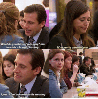 "Tumblr, Blog, and Common: What do you think of role-play? Jan  has this schoolgirl fantasy  It's a pretty common one.  l just..Ifeel uncomfortable wearing <p><a href=""http://ragecomicsbase.com/post/159082191522/micheal-scott-on-role-playing"" class=""tumblr_blog"">rage-comics-base</a>:</p>  <blockquote><p>Micheal Scott on role-playing</p></blockquote>"