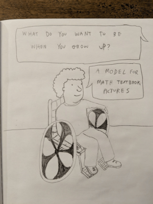 Math, Dream, and Big: WHAT Do You WANT To B E  WHEN Yov GRow UP?  A MODEL FOR  MATH TEXTBOOK  PICTUR ES Dream Big [OC]