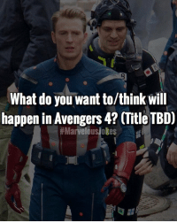 Memes, Avengers, and Marvelous: What do you want to/think will  happen in Avengers 4? (Title TBD)  Comment ideas below.... MarvelousJokes