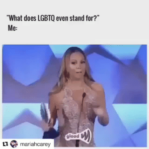 """Tumblr, Blog, and Http: """"What does LGBTQ even stand for?""""  Me:  glaad  mariahcarey staggot: queernigga:  bmoneyuniverse: 😏🏳️🌈🏳️🌈🌈🌈 theory.  judith butler whom'st?   Move over focault"""