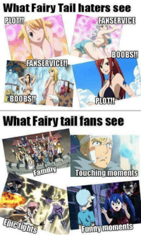 Probably FT Manga will run 2 more years   Jellal Fernandes | Fairy Tail Zero: What Fairy Tail haters see  PLOT!!  FAN SERVICE  BOOBS!!  FANSERVICE!!  BOOBS!!  PLOT!  What Fairy tail fans see  Familiy  Touching moments  Funny moments Probably FT Manga will run 2 more years   Jellal Fernandes | Fairy Tail Zero