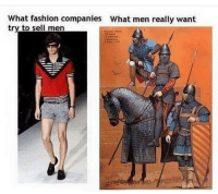 """<p>I&rsquo;m not sure if l should sell this format. via /r/MemeEconomy <a href=""""http://ift.tt/2wshaM6"""">http://ift.tt/2wshaM6</a></p>: What fashion companies  try to sell men  What men really want <p>I&rsquo;m not sure if l should sell this format. via /r/MemeEconomy <a href=""""http://ift.tt/2wshaM6"""">http://ift.tt/2wshaM6</a></p>"""