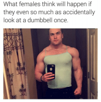 Hey, I'll eat tf out some muscly cheeks. I ain't got no type. Big, tall, medium, small..I fux wit em all! Bring them striated glutes over here and sit on my MF FACE. 😍😍😍😂😂😂 girlswholift: What females think will happen if  they even so much as accidentally  look at a dumbbell once. Hey, I'll eat tf out some muscly cheeks. I ain't got no type. Big, tall, medium, small..I fux wit em all! Bring them striated glutes over here and sit on my MF FACE. 😍😍😍😂😂😂 girlswholift