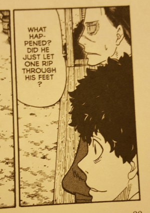 The Fabulous Flatulent Feet of Fire Force: WHAT  HAP-  PENED?  DID HE  JUST LET  ONE RIP  THROUGH  HIS FEET The Fabulous Flatulent Feet of Fire Force