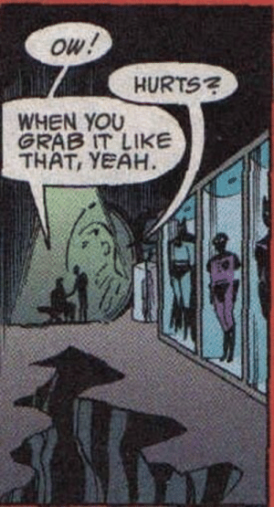 What happens in the Bat Cave stays in the Bat Cave: What happens in the Bat Cave stays in the Bat Cave