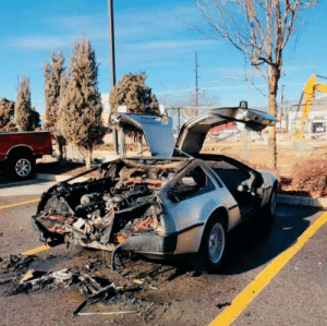 What happens to the flux capacitor when you set the date for 2020. https://t.co/ewgXFBrtpR: What happens to the flux capacitor when you set the date for 2020. https://t.co/ewgXFBrtpR