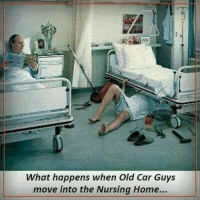 Memes, Nursing, and 🤖: What happens when Old Car Guys  move into the Nursing Home... 😃