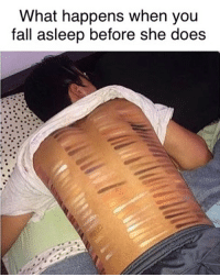 "Fall, Memes, and Fuck: What happens when you  fall asleep before she does 50 shades of ""WAKE THE FUCK UP!"""