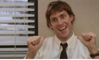 """""""What has two thumbs and hates Todd Packer? This guy!"""" - Jim Halpert https://t.co/iBgo7G7ufD: """"What has two thumbs and hates Todd Packer? This guy!"""" - Jim Halpert https://t.co/iBgo7G7ufD"""