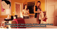 Blair Waldorf is a savage: What have we here? Bed unslept in. Hairin missionary disarray.  Yesterday's dress with todays shame allover  it. Blair Waldorf is a savage