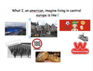 Starter Packs, American, and Europe: What I,an american, imagine living in central  europe is like  w wvww  w  (180)  Für Deutschland!!!  (Wienerschntzel) What I, an american, imagine living in central europe is like