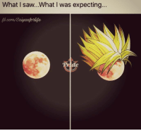 """Hype, Memes, and Saw: What I saw...What was expecting.  ride All that """"Super Moon"""" hype for nothing... What a huge let down.."""