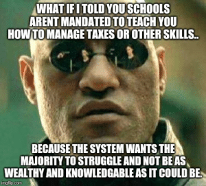 What I think when I see these memes that blame schools: What I think when I see these memes that blame schools