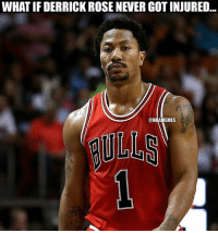 What would have happened?: WHAT IF DERRICK ROSE NEVERGOTINJURED  MEMES What would have happened?