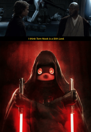 What if I told you that Nook Inc. is now under the control of a Dark Lord of the Sith?: What if I told you that Nook Inc. is now under the control of a Dark Lord of the Sith?