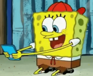 What if spongebob eventually married sandy in the future. This would explain why his child's tie is that of a Texas style tie: What if spongebob eventually married sandy in the future. This would explain why his child's tie is that of a Texas style tie