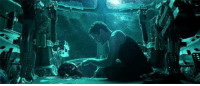 What if the first scene in the trailer is actually the last scene in the film; ultimately being the most heart-breaking send-off for Tony as he drifts off into space after saving the universe.: What if the first scene in the trailer is actually the last scene in the film; ultimately being the most heart-breaking send-off for Tony as he drifts off into space after saving the universe.